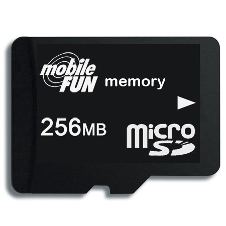 microsd transflash card 256 mb. Black Bedroom Furniture Sets. Home Design Ideas
