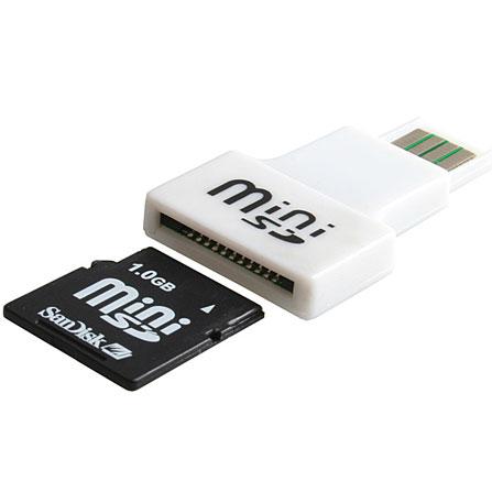 Mini Sd Kartenleser.Usb Handy Minisd Card Reader