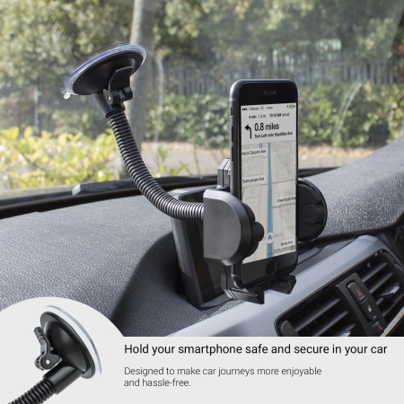 olixar universal smartphone windscreen in car holder the app