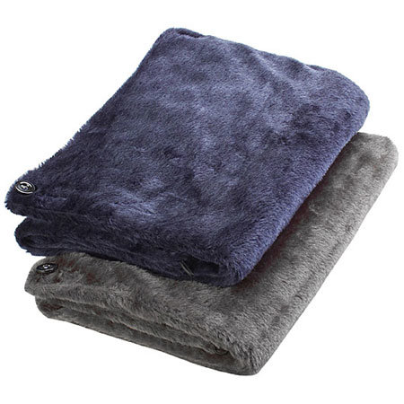 USB Heating Blanket - Navy Blue