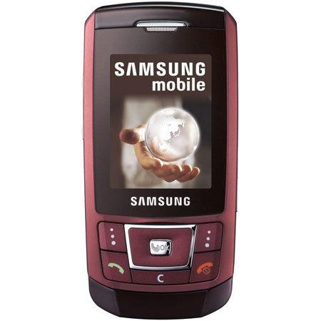 sim free mobile phone samsung d900i red rh mobilefun co uk Samsung C530 Samsung E250