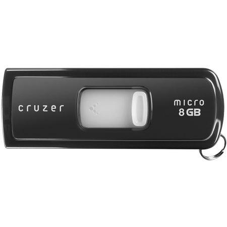 SanDisk Cruzer Micro U3 USB Flash Drive - 8GB - Black