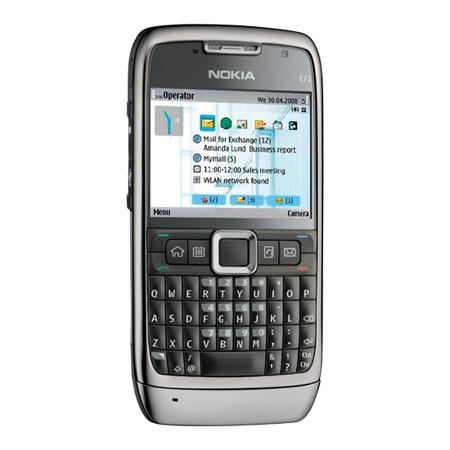 Sim Free Nokia E71 - Steel Grey