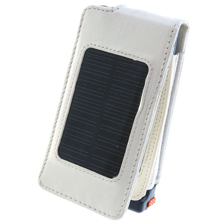 Apple iPhone 3G Solar Charging Case - White