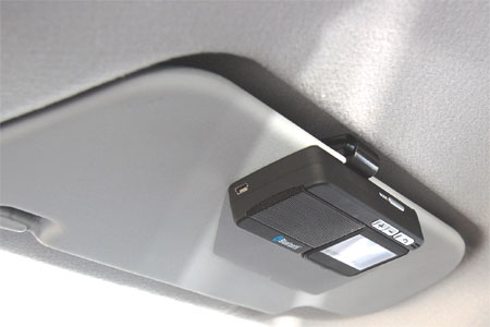 Advanced Bluetooth Visor Car Kit