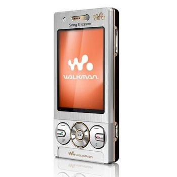 Sim Free Sony Ericsson W705 - Silver