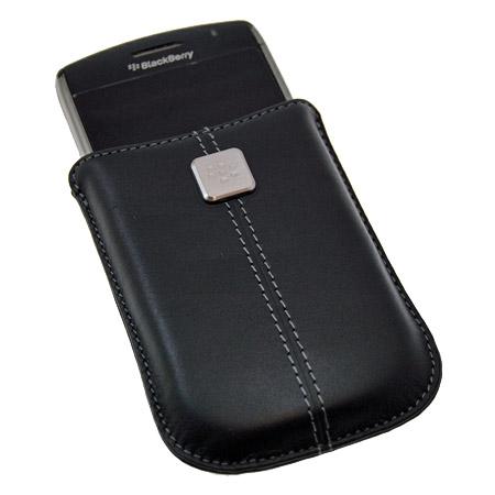 BlackBerry Curve Series Leather Pocket - HDW-19862-001