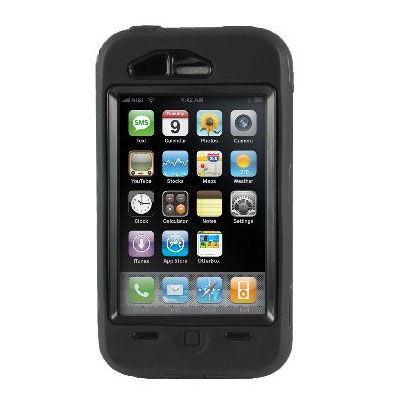 OtterBox For iPhone 3GS / 3G Defender Series - Black