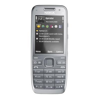 Sim Free Nokia E52 - Grey