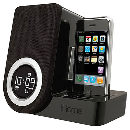 iphone docking station ihome iphone 3gs 3g station 11805