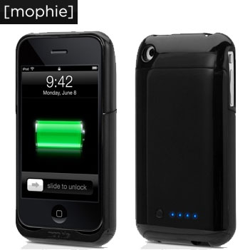 Mophie Juice Pack Air for iPhone 3GS / 3G - Black