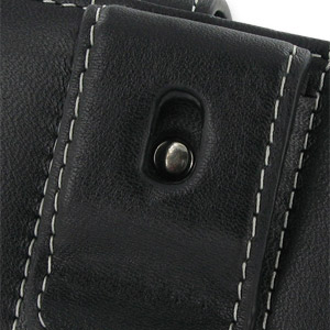 PDair Horizontal Leather Pouch Case - Sony Ericsson Satio
