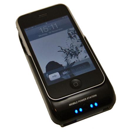 huge discount 1d700 61b88 Solar Power Sleeve Charging Case - iPhone 3GS / 3G - Black