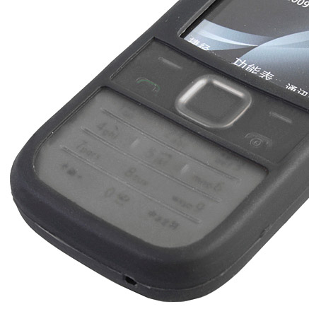 huge selection of 06c57 125f3 Silicone Case for Nokia 2730 Classic - Black