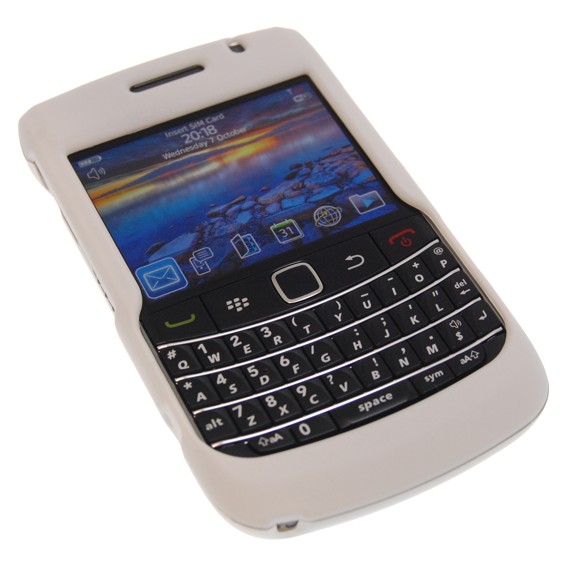 blackberry curve 9700 white - photo #29