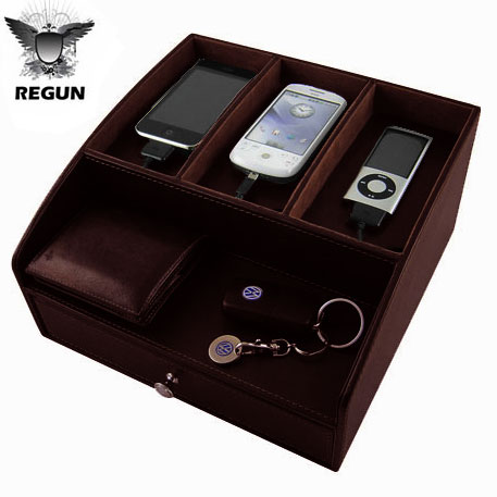 Regun Luxury Table Tidy Brown Reviews amp Comments