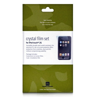 Power Support Crystal Film Screen Protector - Apple iPhone 3GS / 3G