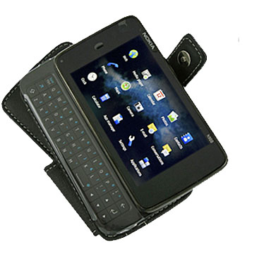 PDair Leather Book Case - Nokia N900