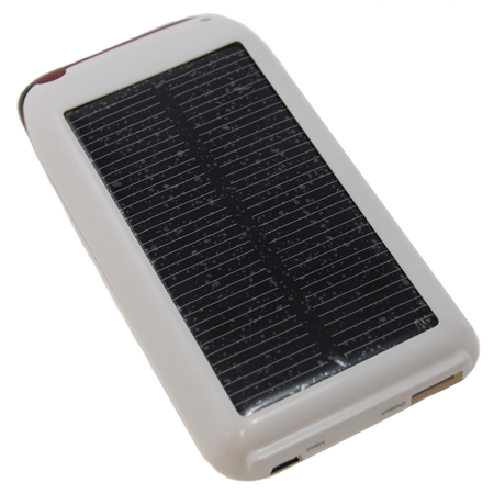 solar chargers for iphone solar power sleeve charging iphone 3gs 3g white 16157