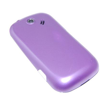 Samsung Genio Qwerty Back Cover - Purple