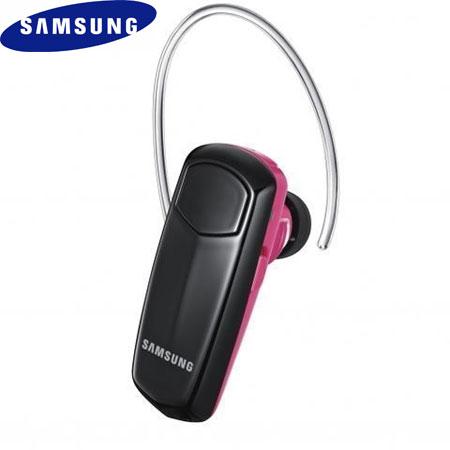 Samsung Wep495 Bluetooth Headset Pink Black