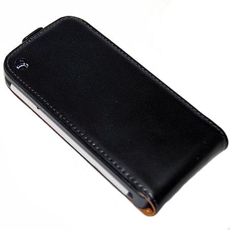 Housse en cuir SlimLine Premium Flip pour Iphone 3GS / 3G