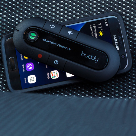 SuperTooth Buddy Bluetooth v2.1 Handsfree Visor Car Kit - Zwart
