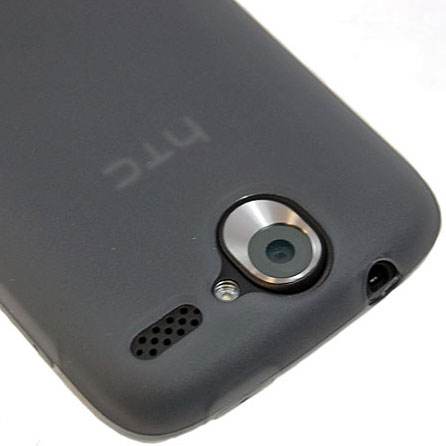 FlexiShield Skin For The HTC Desire - Transparent Black