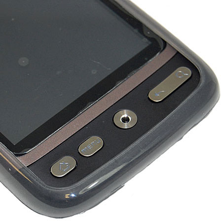 FlexiShield Skin For The HTC Desire - Transparent Black