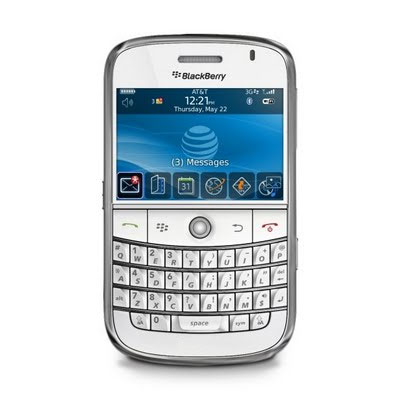 Sim Free BlackBerry Bold 9700 - White