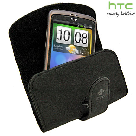 Genuine HTC Carry Pouch For The HTC Desire - Black