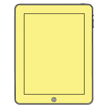 Martin Fields Screen Protector - Apple iPad