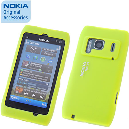 new arrival f7ae8 c4118 Nokia Silicone Cover CC-1005 For Nokia N8 - Green