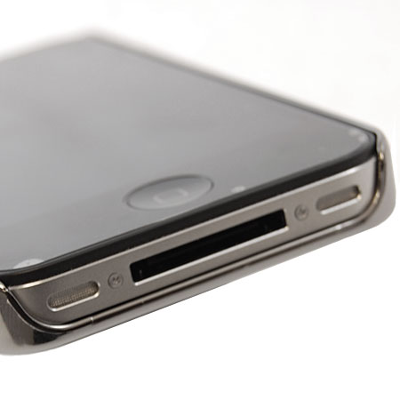 Case-Mate Barely There For iPhone 4 - Chrome