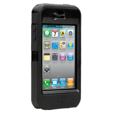 pretty nice 488ee da04e OtterBox Defender Series iPhone 4S / 4 Tough Case - Black