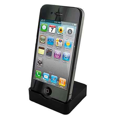 iphone 4s 4 dock black. Black Bedroom Furniture Sets. Home Design Ideas
