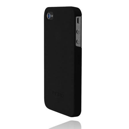 new styles c7711 13e5f Incipio Feather Case For iPhone 4S / 4 - Matte Black