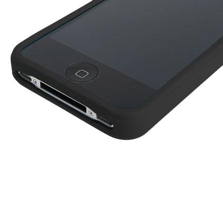 meet 2dbb3 38fbf iPhone 4 Rubber Bumper - Black