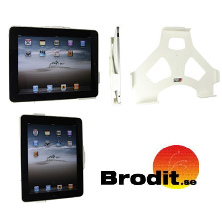 brodit wandhalterung f r ipad in wei. Black Bedroom Furniture Sets. Home Design Ideas