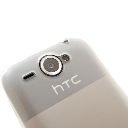 FlexiShield Skin For The HTC Wildfire - Clear