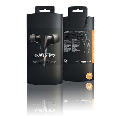 a-Jays Two Heavy Bass Impact Earphones