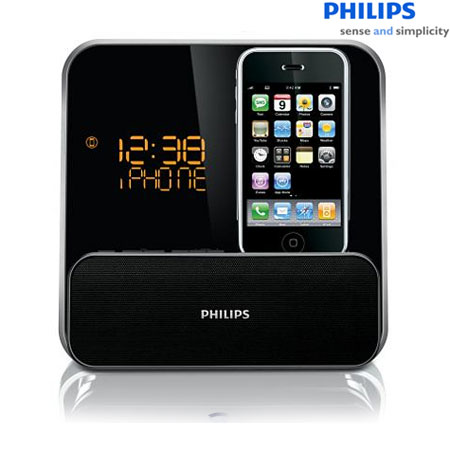 philips dc315 alarm clock radio iphone ipod reviews. Black Bedroom Furniture Sets. Home Design Ideas