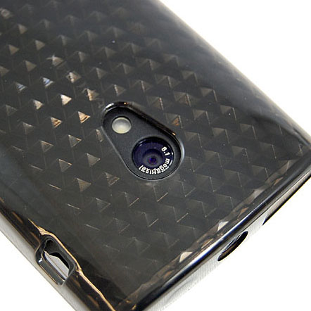 Advanced FlexiShield Skin For The Sony Ericsson Xperia X10 - Transparent Black