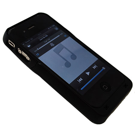 coque iphone 4s 4 chargeur noire. Black Bedroom Furniture Sets. Home Design Ideas