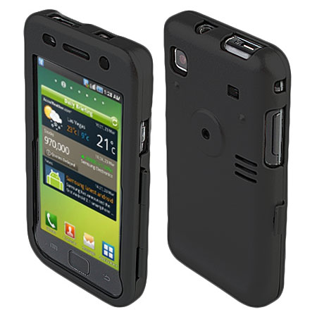 special section buy popular low cost Coque Samsung Galaxy S - Noire