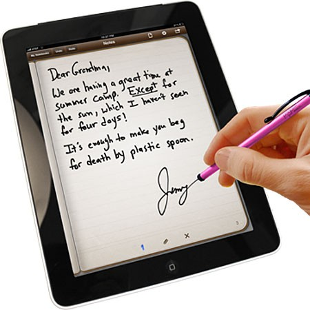 Ten1 Pogo Sketch Stylus for Capacitive Touchscreens - Pink