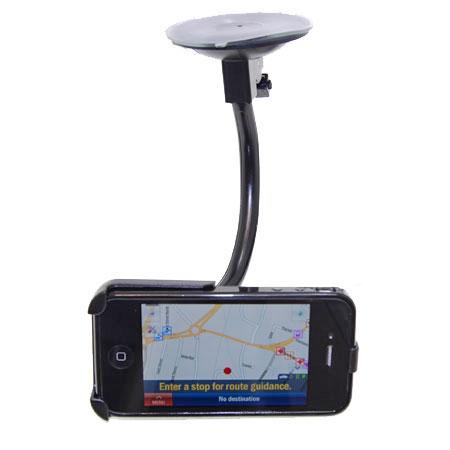 Car Pack voor de iPhone 4S / 4 met Zwarte Case :: Mobile Fun Belgiu00eb