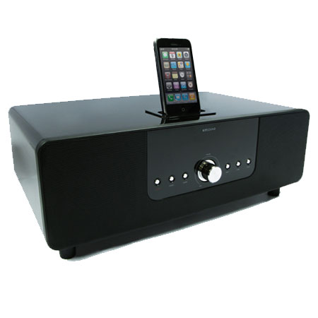 kitsound boomdock docking station for ipod iphone 4 3gs 3g. Black Bedroom Furniture Sets. Home Design Ideas