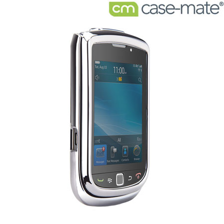Case-Mate Barely There For BlackBerry Torch 9800 - Metallic Silver