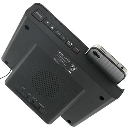 KitSound Xdock iPhone 4S / iPod Clock Radio Dock
